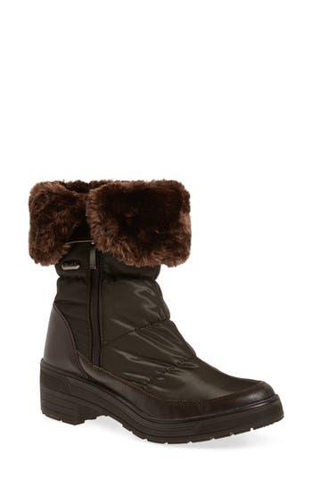 Pajar Ventura Weatherproof Faux Fur Lined Boot, Brown