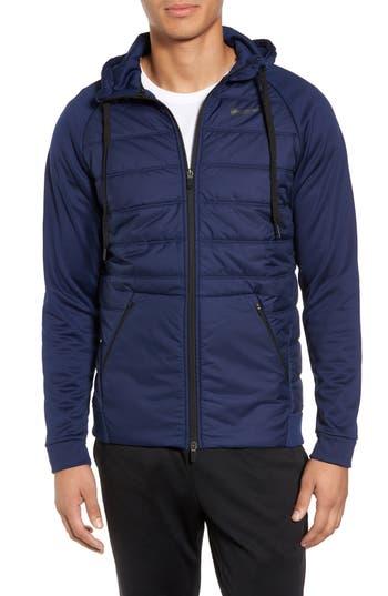 Nike Therma Training Jacket, Blue
