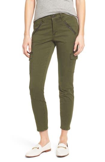 Ag Whitt Ankle Skinny Cargo Pants, Green