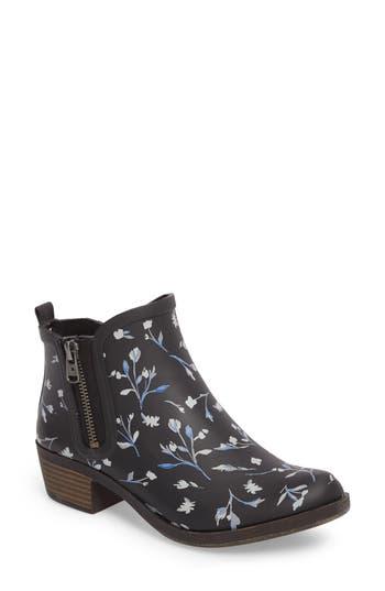 Lucky Brand Baselrain Rain Boot, Black