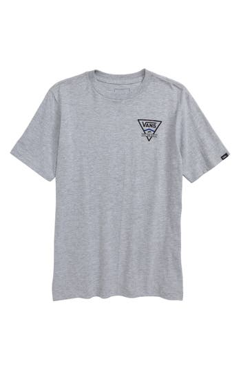 Boys Vans Logo Side Stripe TShirt