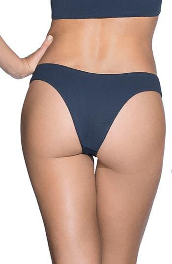 Maaji Stargazer Reversible Cheeky Bikini Bottoms, Blue