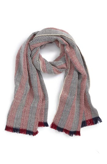 BP. Two Tone Herringbone Scarf