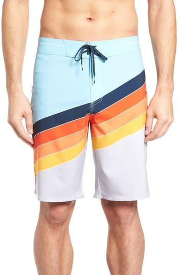 Men's Billabong North Point X Board Shirts, Size 28 - Green