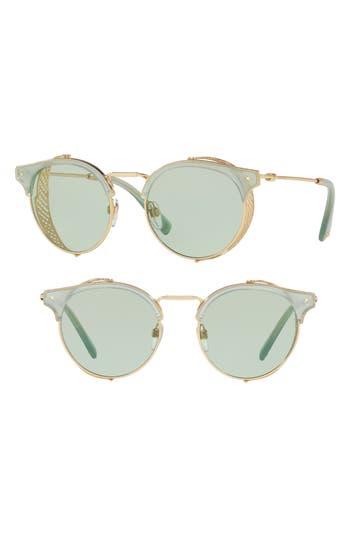 Women's Valentino 51Mm Round Sunglasses -
