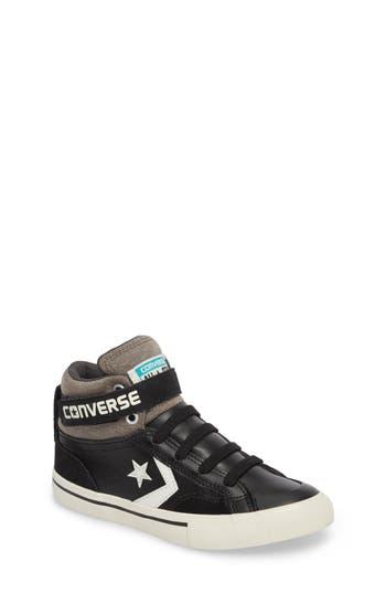 Boys Converse Pro Blaze High Top Sneaker Size 6 M  Black