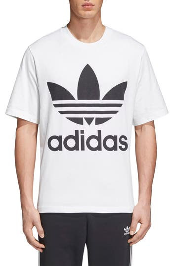 Adidas Originals Oversize Logo T-Shirt, White