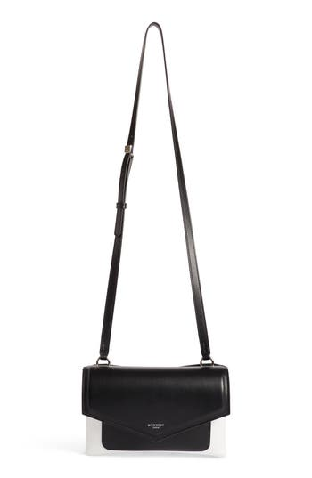 Givenchy Duetto Bicolor Leather Flap Crossbody Bag - at NORDSTROM.com