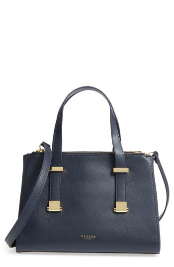 Ted Baker London Ameliee Leather Satchel - Blue