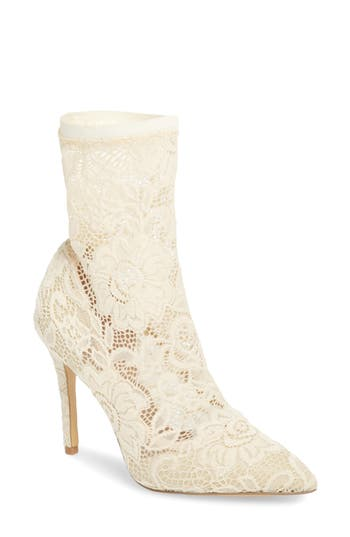 Charles By Charles David Player Sock Bootie, Ivory
