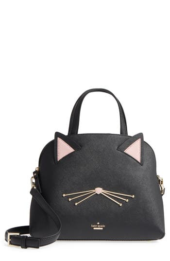 Kate Spade New York Cat - Lottie Satchel - Black