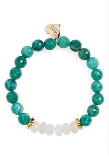 Women's Love's Affect Carly Semiprecious Stretch Bracelet