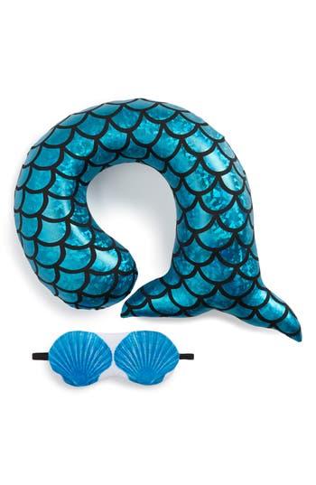 Under One Sky Pillow & Sleep Mask Set, Size One Size - Blue