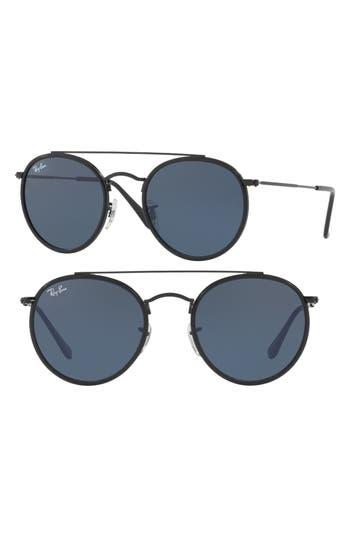 Ray-Ban 51Mm Aviator Sunglasses - Black