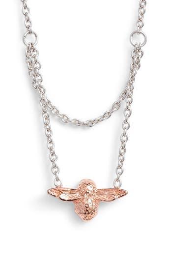 Women's Olivia Burton Queen Bee Pendant Necklace
