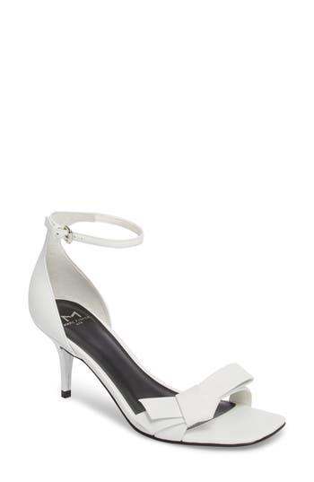 Marc Fisher Ltd Tierra Ankle Strap Sandal- White
