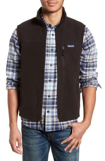 Men's Patagonia Classic Synchilla Fleece Vest, Size Small - Black