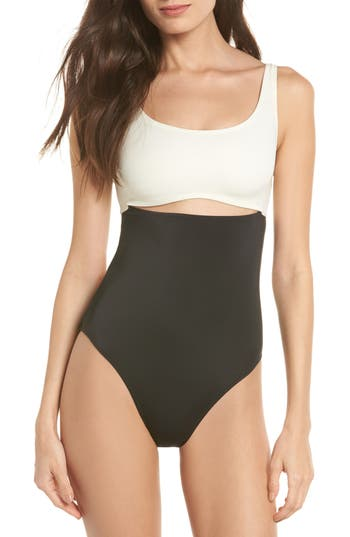 Solid & Striped The Natasha One-Piece Swimsuit, Black