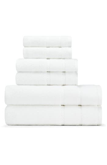 Nautica Belle Haven Bath Towel, Hand Towel & Washcloth Set, Size One Size - White
