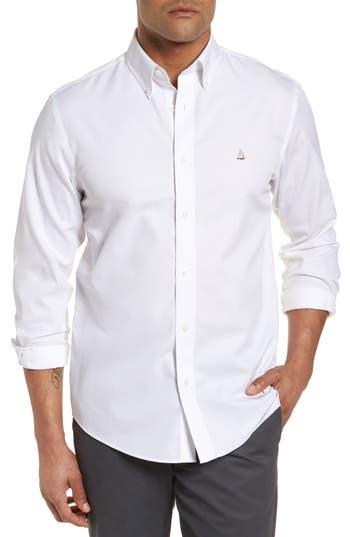 Nordstrom Men's Shop Smartcare™ Traditional Fit Twill Boat Shirt