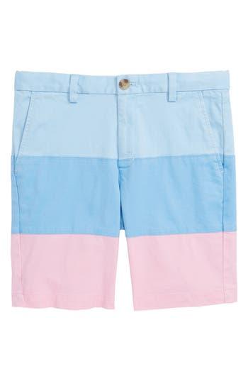 Boys Vineyard Vines Pieced Stretch Breaker Shorts