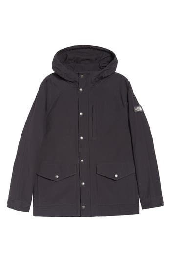 The North Face Waxed Canvas Utility Jacket, Black