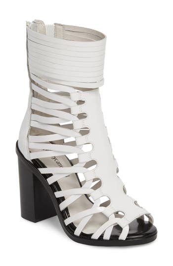 Jeffrey Campbell Deportivo Strappy Bootie, White