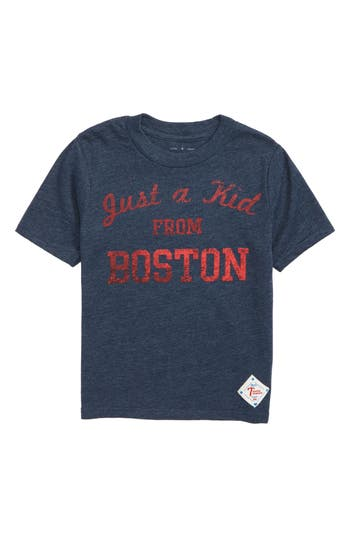 7th inning stretch boys boys 7th inning stretch just a kid from boston graphic tshirt size xs 45 blue