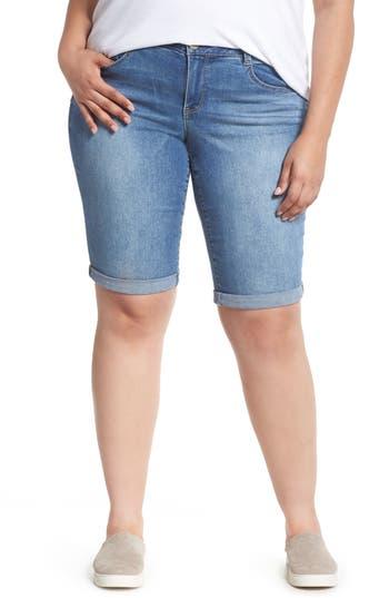 Ab-Solution Cuffed Denim Shorts