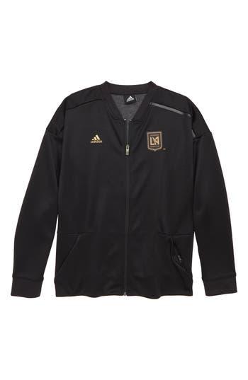 Boys Adidas Mls Los Angeles Fc Anthem Full Zip Jacket Size S  8  Black