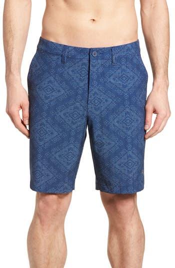 Tommy Bahama Bayman Geo De Mayo Hybrid Shorts