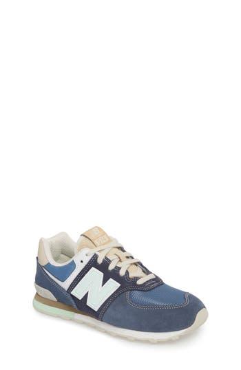 Boys New Balance 574 Retro Surf Sneaker Size 7 M  Blue