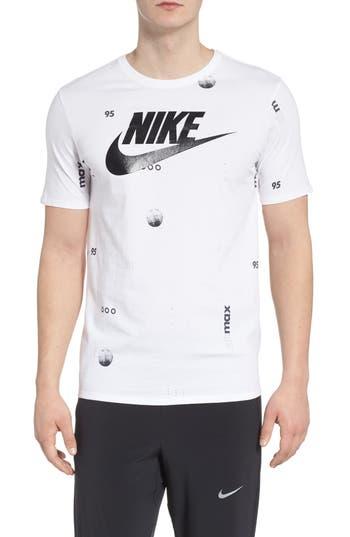 Nike Sportswear Air Max Print T-Shirt, White