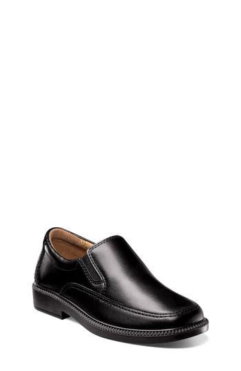 Boys Florsheim Bogan SlipOn Size 4 M  Black
