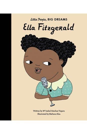 Girls Little People Big Dreams  Ella Fitzgerald Book