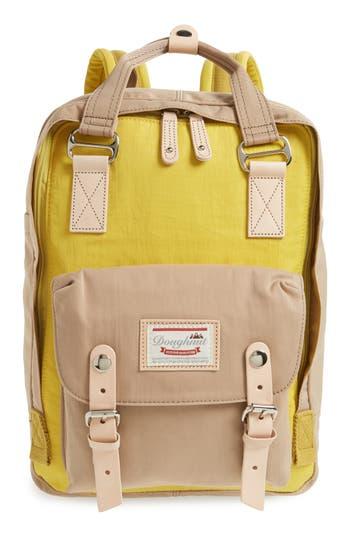 Doughnut Macaroon Colorblock Backpack