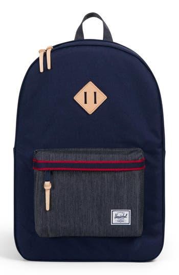 Herschel Supply Co. Heritage Offset Denim Backpack