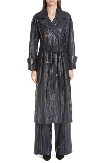 Women's Rejina Pyo Oli Faux Leather Trench Coat