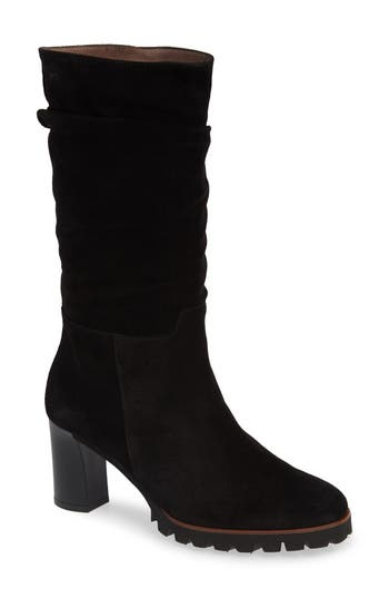 Wonders Slouchy Block Heel Boot