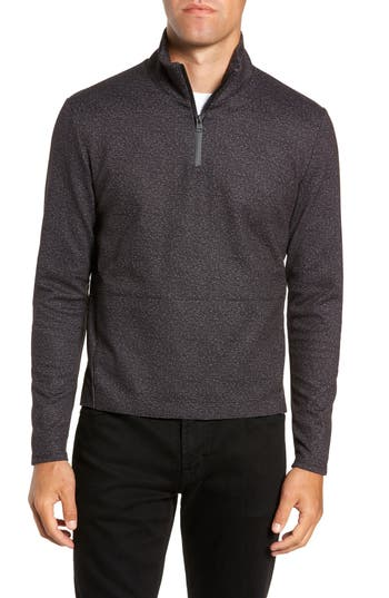 W.R.K Oscar Quarter Zip Slim Fit Sweater