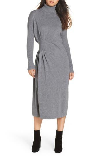 CAARA Hepburn Draped Sweater Dress