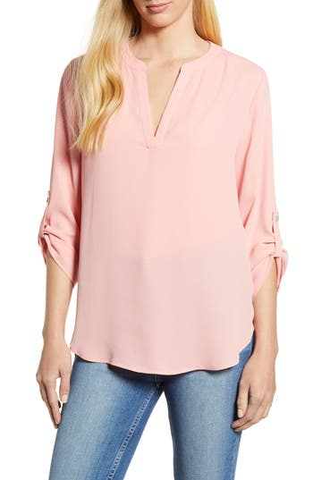 Everleigh Roll-Tab Sleeve Tunic