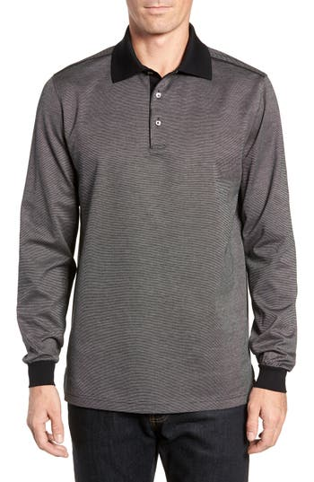 BOBBY JONES CLASSIC FIT JACQUARD POLO
