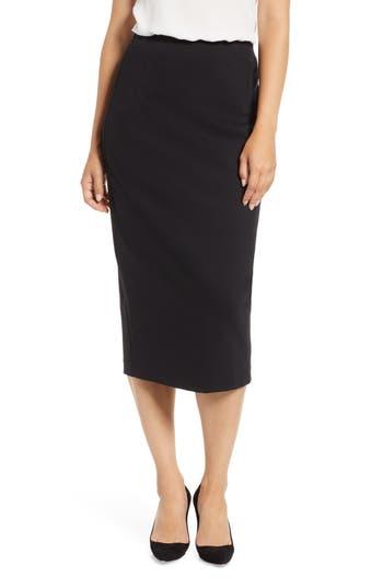 Everleigh Ponte Pencil Skirt