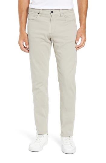 Men's Bugatchi Slim Fit Straight Leg Pants, Size 30 x 30 - Beige