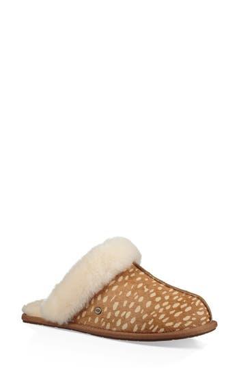 UGG® Scuffette II Idyllwild Genuine Calf Hair Slipper