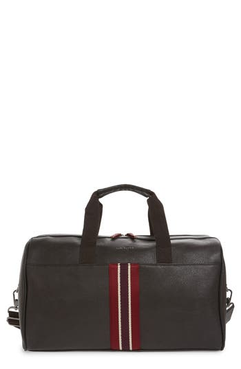 Ted Baker London Berman Faux Leather Duffel Bag