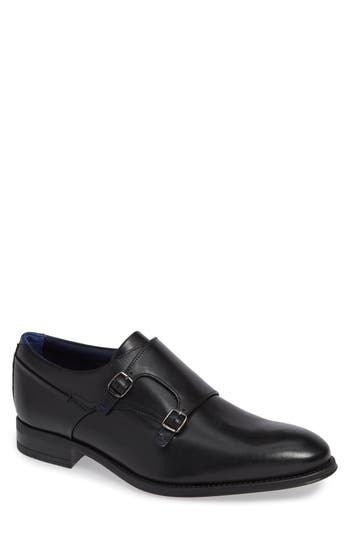 Ted Baker London Cathon Double Buckle Monk Shoe