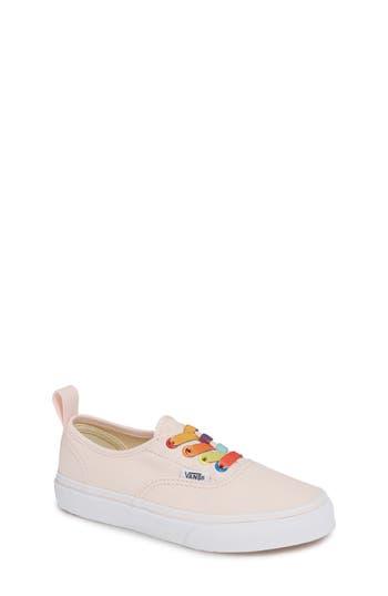 Vans Authentic Rainbow Shine Elastic Lace Sneaker