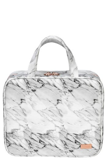 Stephanie Johnson Carrara Grey Martha Cosmetics Briefcase